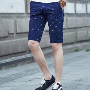 ショートパンツ メンズ ハーフパンツ 春 夏 膝上 メンズ短パン ボトムス カジュアル 涼しい 半ズボン ショーツ 総柄 大きいサイズ|sanwafashion