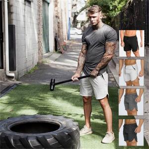 ハーフパンツ メンズ 無地   吸汗速乾   夏 半ズボン 短パン スウェット ショートパンツ スポーツパンツ イージーパンツ|sanwafashion