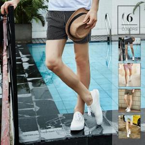 ハーフパンツ メンズ ストライプ    吸汗速乾     夏 半ズボン 短パン スウェット ショートパンツ スポーツパンツ イージーパン|sanwafashion