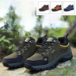 トレッキングシューズ メンズ レディース 登山靴 疲れない 軽量 防水 耐磨耗 低反発  ランニングシューズ 運動靴 ウォーキングシューズ アウトドア スポーツ|sanwafashion