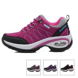 トレッキングシューズ レディース 登山靴   耐磨耗  滑り止め  疲れない 軽量  防水 ランニングシューズ 運動靴 ウォーキングシューズ アウトドア スポーツ|sanwafashion