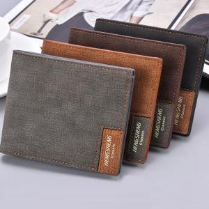 財布 メンズ サイフ さいふ 男性  pu革 二つ折り財布 シンプル 超薄型 カジュアル 多機能 大容量 カード多収納 お札入れ プレゼント|sanwafashion