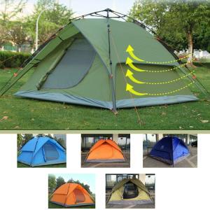 ワンタッチテント 簡易テント ポップアップテント キャンプテント ビーチテント テント  3-4人用  防水 サンシェード  アウトドア  日除け 日よけ|sanwafashion