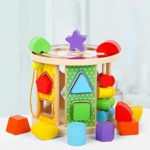 知育パズル 子供 知育 玩具 教育 勉強 積み木 おもちゃ1-3歳 誕生日プレゼント 男 女 知育玩具 木のおもちゃ 木 おもちゃ