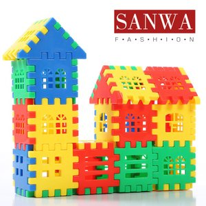 おもちゃ 積み木 ブロック 知育パズル 赤ちゃん 1-6歳 誕生日プレゼント プレゼント パズル はめ込み 形合わせ 学習 発育 人気 立体パズル 創造力|sanwafashion