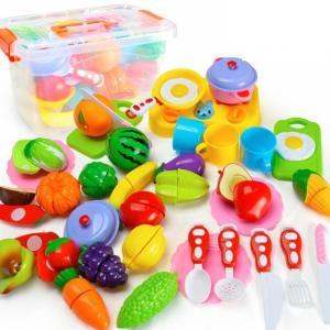 おままごとセット ごっこ遊び 海鮮 果物 野菜 食器  キッチン おもちゃ 子供 女の子 男の子 誕生日 調理器具セット 料理ごっこ 知育玩具 台所