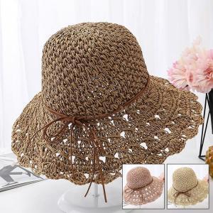 帽子 レディース 春夏 レディースキャップ ハット アウトドア 通気性良い  リゾート ビーチ ワイドハット UV カット 日よけ シンプル 軽い sanwafashion