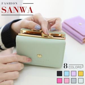 三つ折り財布 新入荷 財布 レディース 小銭入れ カード入れ サイフ 多機能   無地   シンプル  おしゃれ  wallet  コンパクト 安い 人気 大容量 可愛い|sanwafashion
