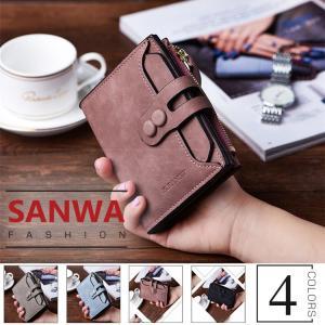 二つ折り財布 レディース 財布 サイフ ウォレット ビンテージ   ストリート  トレンド   wallet 大収納 大容量 多機能 カード入れ コンパクト 可愛い|sanwafashion