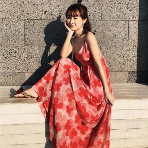 夏 旅行 リゾート ワンピース レディース サマードレス バックレス  セクシー  ファッション 体型カバー セクシー ママ スカート リゾートワンピ おしゃれ|sanwafashion