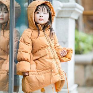 秋冬 ダウンコート 子供コート 女の子 男の子 韓国風 子供服 キッズ服 ジュニア ジャケット 中綿 フード付き 暖かい 防寒 90100110120130|sanwafashion