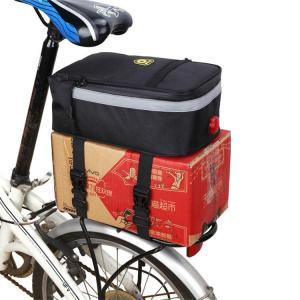 自転車用 サイクルバッグ 大容量 サイクルパニアバッグ ロングツーリング 自転車 ロードバイク サドルバッグ 工具入れ ツーリング リアバッグ トランクバッグ|sanwafashion