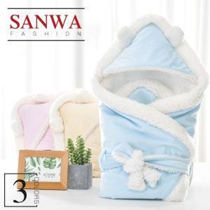 ■ 品名:ベビー寝袋 ■ 素材:ボアフリース ■ カラー:全3色 ■ サイズ:80*80CM ■ 季...