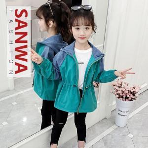 キッズコート 秋冬 コート  女の子 子供服 ジュニア アウター ジャケット 可愛い カジュアル 80 90 100 110 120 130|sanwafashion