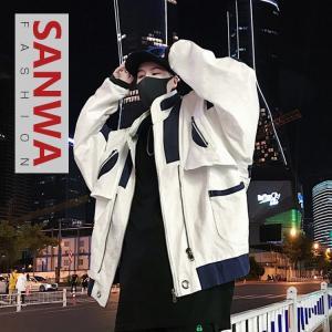 オーバーコート メンズコート コート 春秋冬 メンズ  フード付き     ゆったり ロングコート ジャケット ロング丈 トップス アウター 定番 通勤|sanwafashion