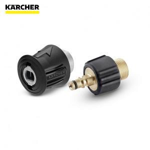ネジ式の延長高圧ホースをクイックカップリング対応機種に接続できます。 ※ホースリールタイプの高圧洗浄...