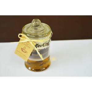 アロマキャンドル コーヒーの香り ガラス容器入り ろうそく フレグランスキャンドル クリスマスキャンドル キャンドル かわいい おしゃれ |sanwapotitto