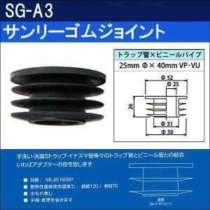 サンリーゴムジョイント  SG-A3(10個セット)|sanwayamashita