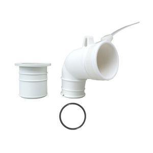 カクダイ 洗濯機排水トラップ用エルボ 437-202|sanwayamashita