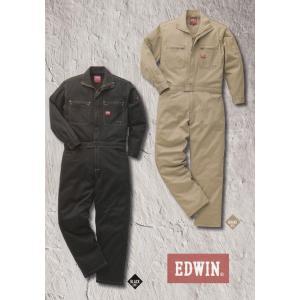 EDWIN・エドウイン31-81000オーバーオールつなぎ服【綿ストレッチ】|sanyo-apparel
