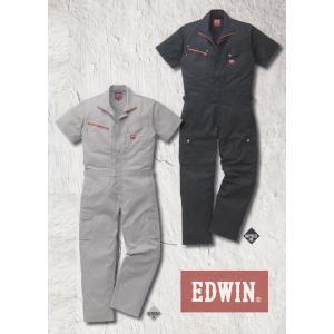 EDWIN・エドウイン31-81003半袖オーバーオール つなぎ服|sanyo-apparel