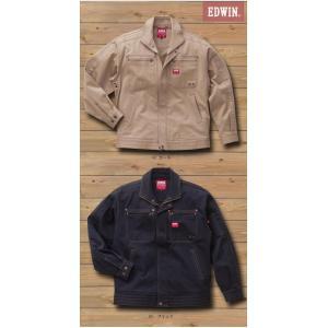EDWIN・エドウイン32-82000長袖ブルゾン【綿ストレッチ】|sanyo-apparel