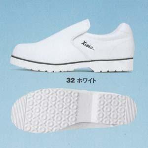 XEBECジーベック85662 厨房シューズ・ホワイト|sanyo-apparel