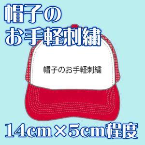 帽子 お手軽刺繍 1色 SALEセール|sanyo-apparel