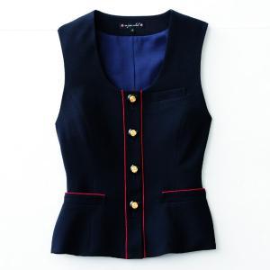 事務服 ベスト アンジョア 16460 ベスト 5号〜15号SALEセール|sanyo-apparel