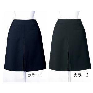事務服 スカート アンジョア 51414 ボックススカート 5号〜19号SALEセール|sanyo-apparel