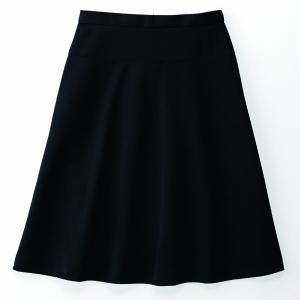 事務服 スカート アンジョア 51513 フレアースカート 5号〜19号SALEセール|sanyo-apparel