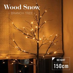小さくシンプルなのに存在感のあるブランチツリー。 枝の先端に灯るLEDライトは、温かみのある色合いの...