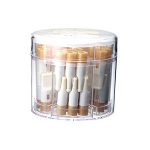 禁煙パイプ普通サイズ50本(先端:金色)|sanyo-stre