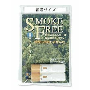 禁煙パイプ普通サイズ2本(先端:金色)|sanyo-stre