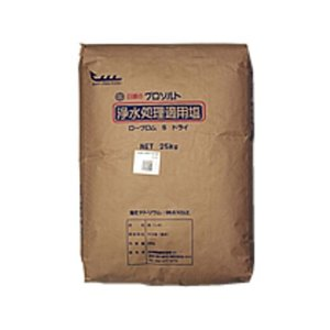 プロソルト 浄水処理・電解水生成用塩 ローブロムS ドライ20kg×10袋【A地区】|sanyo-stre