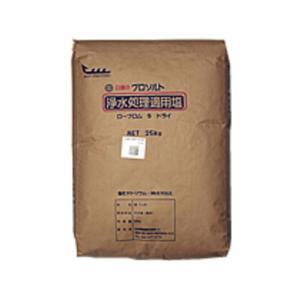 プロソルト 浄水処理・電解水生成用塩 ローブロムS ドライ20kg×10袋【B地区】|sanyo-stre
