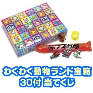わくわく動物ランド宝箱(30付)(当てくじ) sanyodo-shop