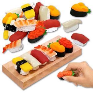 本物そっくり?食べたくなる?お寿司たちが登場人形を指で押すとピューと音が鳴るよ♪  【※ご注意事項】...