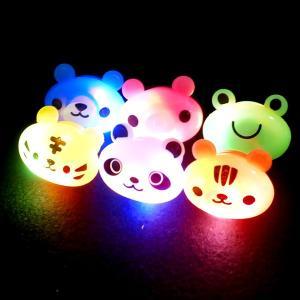 光るアニマルゆびわ36個セット(光るおもちゃ)|sanyodo-shop