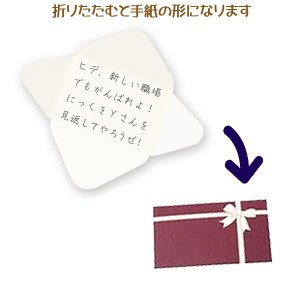 メール便可・手紙カード 10枚入り ありがとう(メッセージカード 寄せ書き)ひみつのレターボックス シリーズ sanyodo-shop 02