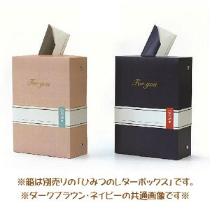 メール便可・手紙カード 10枚入り ダークブラウン(メッセージカード 寄せ書き)ひみつのレターボックス シリーズ sanyodo-shop 03