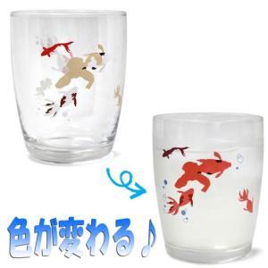 色変わりグラス 金魚 sanyodo-shop