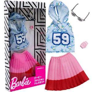 メール便可・バービー コンプリートルックス フーディ&ミニスカート BARBIE COMPLETE LOOKS FASHION 9|sanyodo-shop