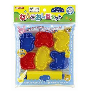 ねんどおし型セットどうぶつタイプ(粘土セット)知育玩具|sanyodo-shop