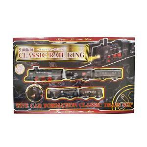 5両編成 クラシックレールキング(列車おもちゃ) sanyodo-shop