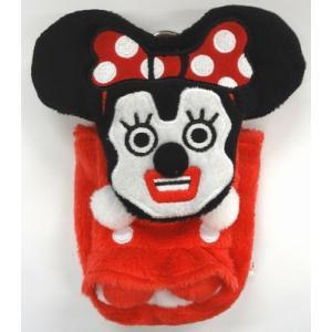 ミッキー&フレンズキュービックマウスモバイルぬいぐるみポーチミニーマウス|sanyodo-shop