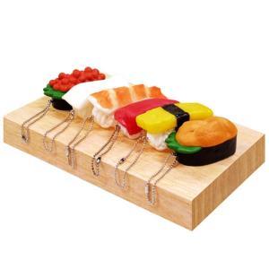 笛付お寿司BC 50個セット(ボールチェーン付マスコット)6種類アソート|sanyodo-shop
