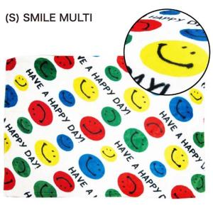 フランネル ブランケット FLANNEL F/B (S) SMILE MULTI|sanyodo-shop