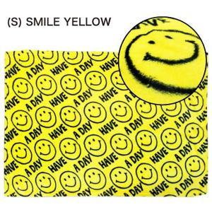 フランネル ブランケット FLANNEL F/B (S) SMILE YELLOW|sanyodo-shop