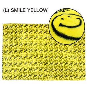 フランネル ブランケット FLANNEL F/B (L) SMILE YELLOW|sanyodo-shop